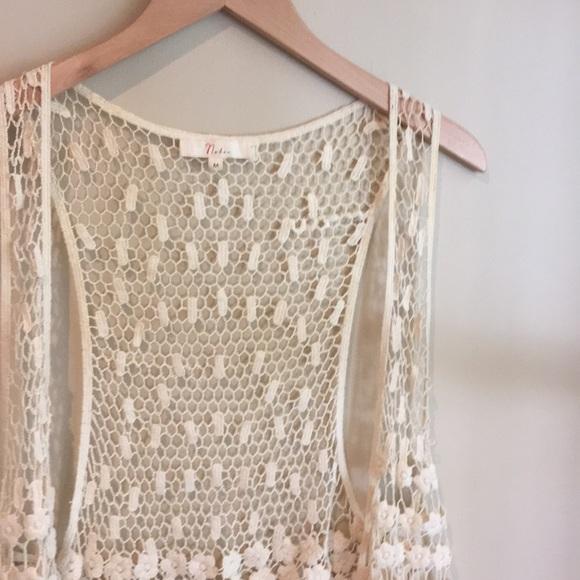 Jackets Coats Crochet Sleeveless Vest Poshmark
